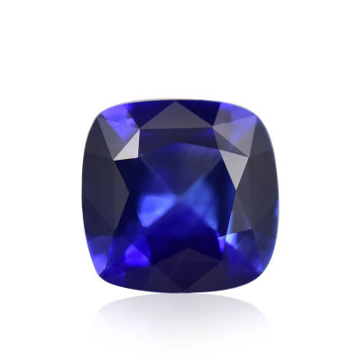 0.99 карат, синий, Шри-Ланки Сапфир подушкообразной формы