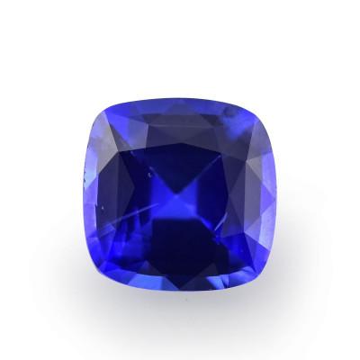 1.13 карат, синий, Шри-Ланки Сапфир, форма подушки