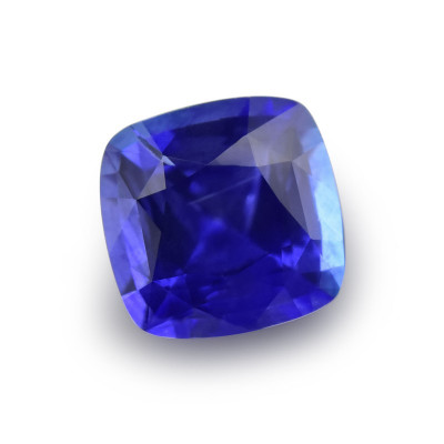 1.11 карат, синий, Шри-Ланки Сапфир, форма подушки