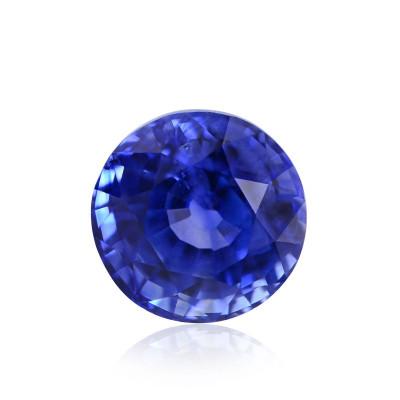 1.83 карат, Васильковый (Синий) Сапфир из Шри-Ланки, форма круг