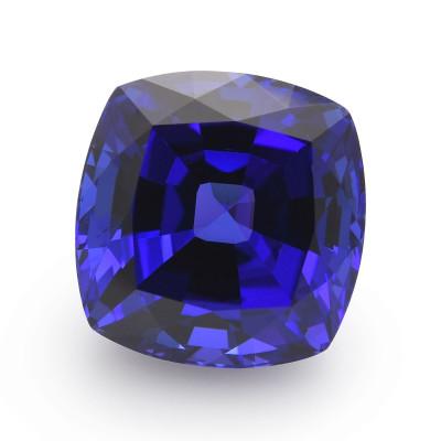 20.60 карат, синий, фуксия, формы валика, GWLAB