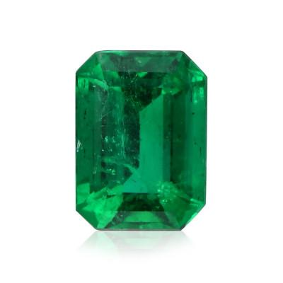 2.48 карат, зеленый, колумбийский изумруд, изумрудно-формы, мелкие, GUBELIN