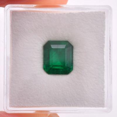 2.49 карат, зеленый, колумбийский изумруд, изумрудно-формы, мелкие, компакт-диск