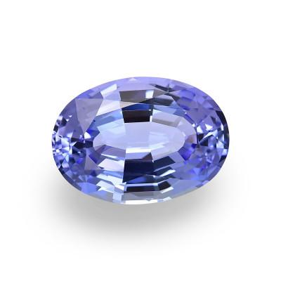 10.27 карат, синий, розовый, овальной формы, GWLAB