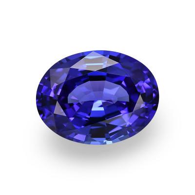 9.67 карат, синий, розовый, овальной формы, GWLAB