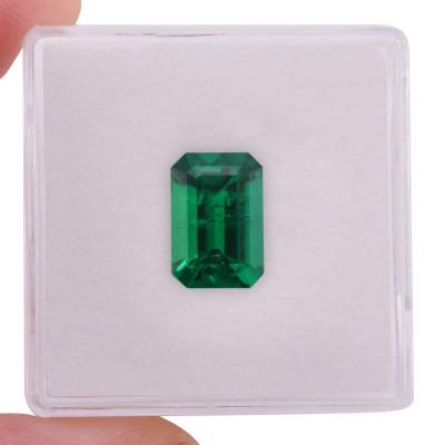 2.09 карат, зеленый, колумбийский изумруд, изумрудно-формы, мелкие, компакт-диск