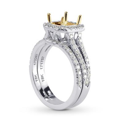 Contoured Diamond Wedding Band (0.15Ct TW)