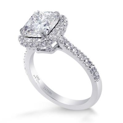 GIA Cushion Diamond Regal Halo Ring (2.55Ct TW)