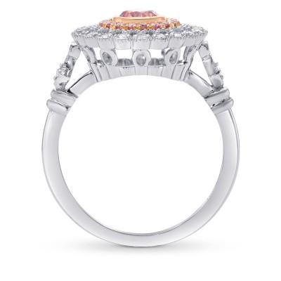 Argyle Fancy Intense Purplish Pink Diamond Couture Ring (0.68Ct TW)