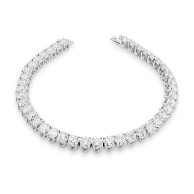 Round Brilliant Diamond Tennis Bracelet (9.00Ct TW)