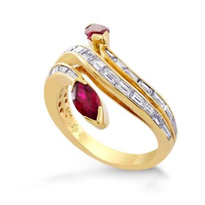 Ruby & Diamond Designer Ring (2.36Ct TW)