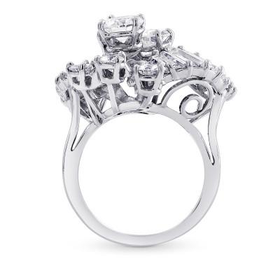 Extraordinary Fancy Shape Diamond Ring (4.60Ct TW)