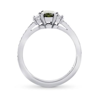 Chameleon Side Stone Diamond Ring (1.08Ct TW)