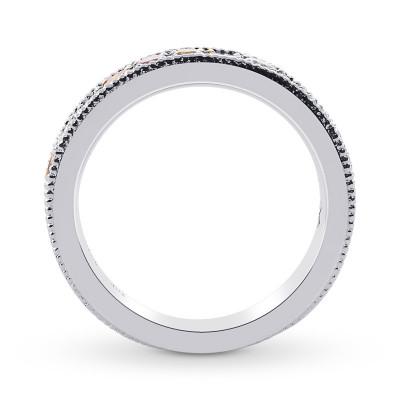 Multicolored Diamond Milgrain Band Ring (0.67Ct TW)