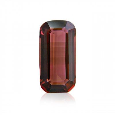 2.21 carat, Pink Tourmaline, Emerald Shape