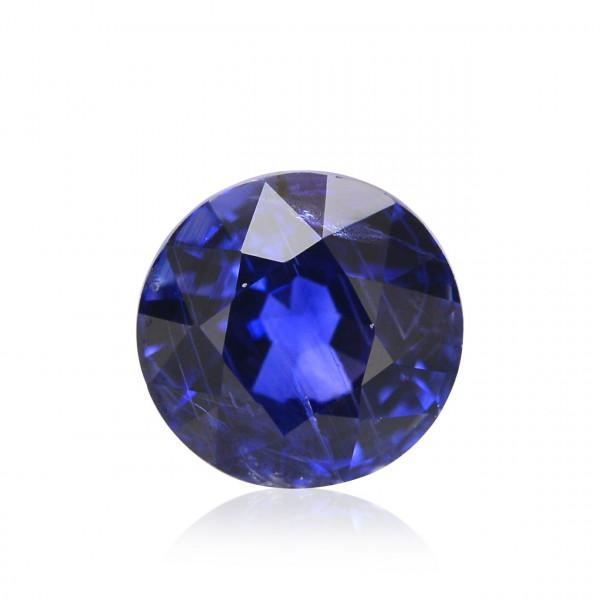 0.50 carat Blue Sri Lankan Sapphire, Round Shape