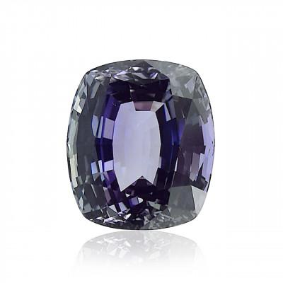14.00 carat, Tanzanite, Cushion Shape, GWLAB