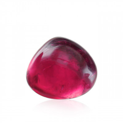 9.90 карат, розовый, турмалин, форма кабошон
