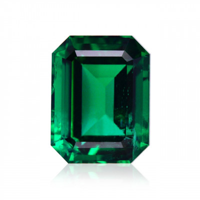 2.36 карат, зеленый замбийский Изумруд, изумрудно-формы, мелкие, АГЛ