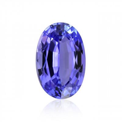 2.63 carat, Violet, Tanzanite, Oval Shape