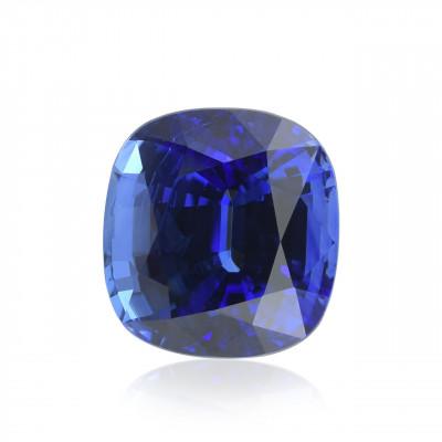 13.23 карат, синий, Шри-Ланки Сапфир, форма валика, гр