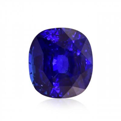11.40 карат, королевский синий, Шри-Ланки Сапфир, форма валика, гр