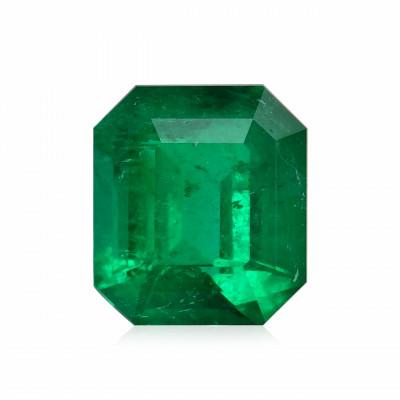 2,60 карат, зеленый, колумбийский изумруд, изумрудно-формы, мелкие, гр