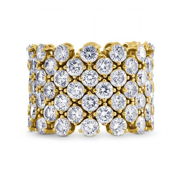 Flexible Diamond Ring (11.67Ct TW)