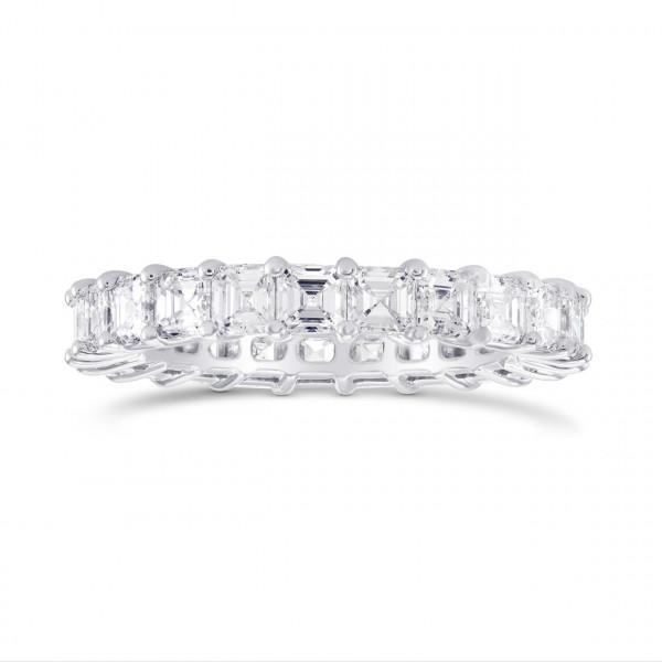 Asscher-cut Diamond Full Eternity Band Ring (3.54Ct TW)