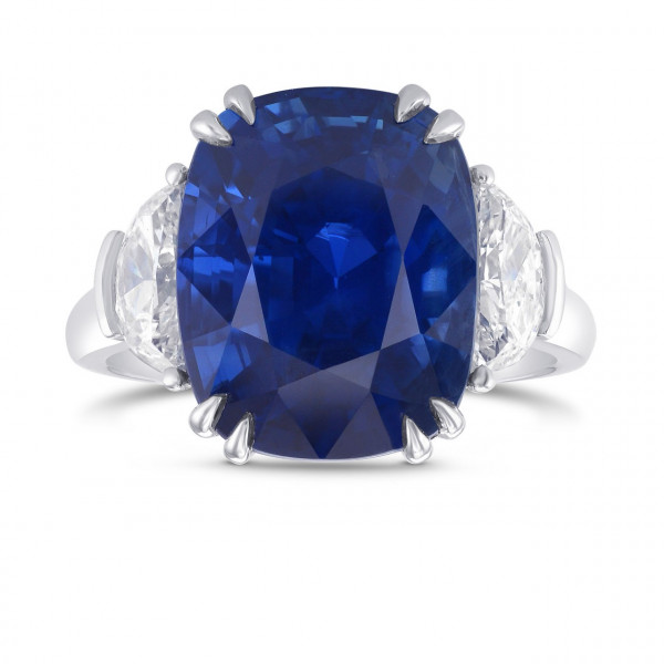 10.04CT Burma No Heat Extraordinary Sapphire Ring (10.85Ct TW)